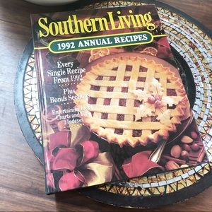 Vintage 1992 Souther Living Annual Recipes Book